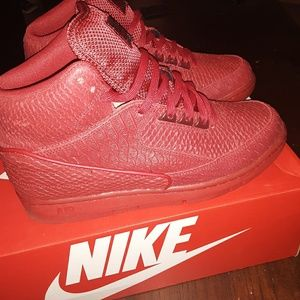 Nike air python prm red with box